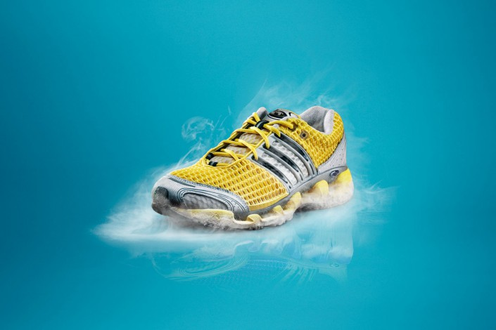 ADIDAS Clima Cool 1 is a composing by Schalterhalle post production and Tobias Winkler - Retouching Munich.