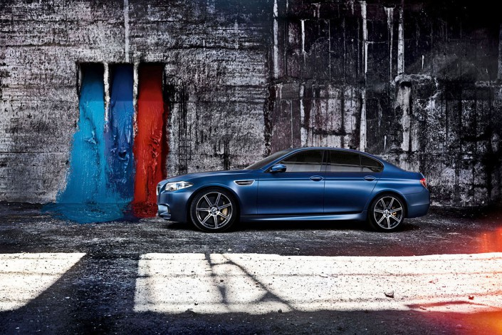 BMW M5 - Matt Paint 11 is a car composing by Schalterhalle post production and Tobias Winkler - Retouching Munich.