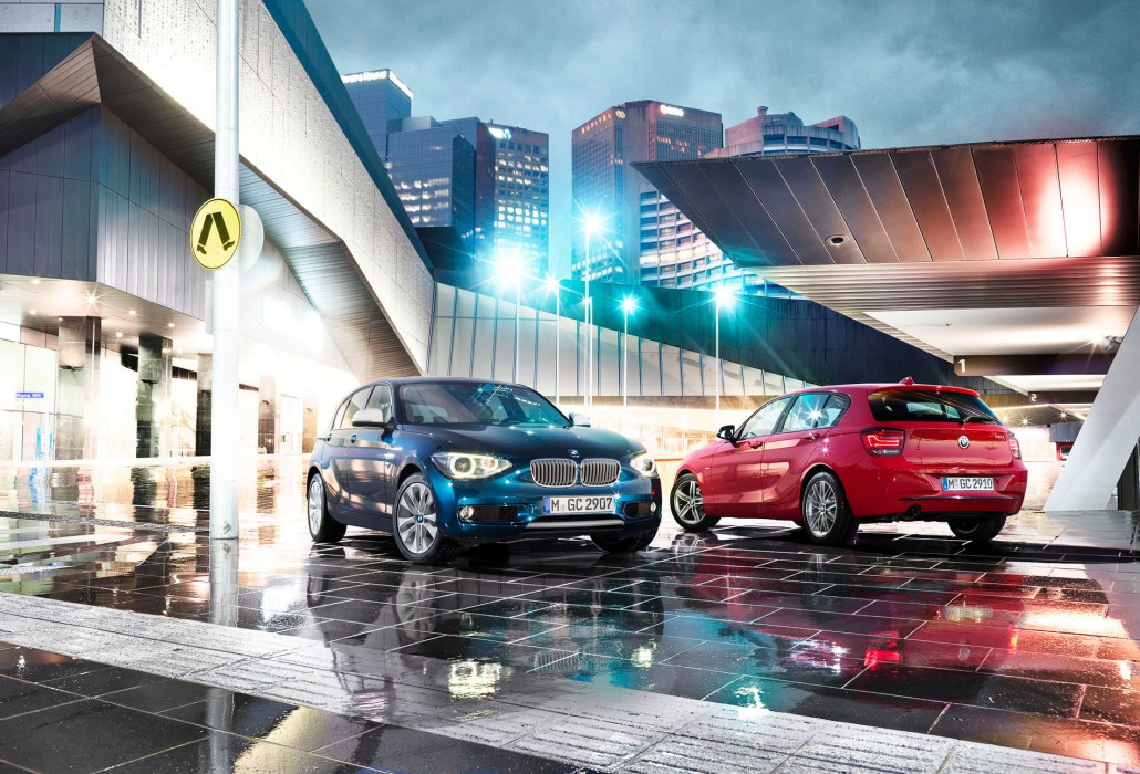 BMW 1 Series – Melbourne 01 is a car look composing by Schalterhalle post production and Tobias Winkler - Retouching Munich.