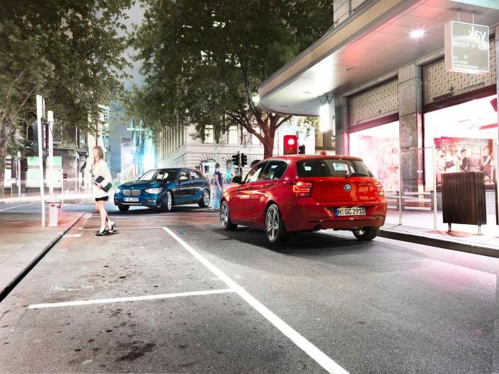 BMW 1er – Melbourne 04 ist ein Composing der Schalterhalle Postproduktion und Tobias Winkler - Bildbearbeitung München.