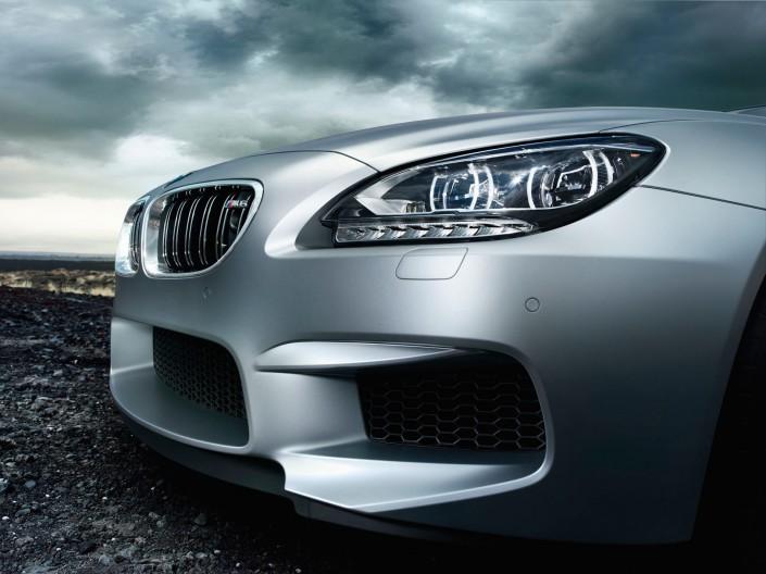 BMW M6 Gran Coupé Mattlack - Hawaii 6 ist ein Composing der Schalterhalle Postproduktion und Tobias Winkler - Bildbearbeitung München.