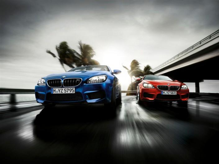 BMW M6 - Miami 02 ist ein Composing der Schalterhalle Postproduktion und Tobias Winkler - Bildbearbeitung München.