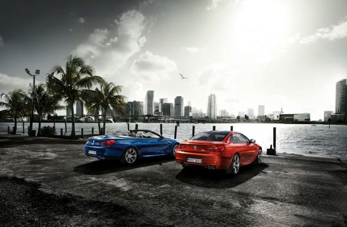 BMW M6 - Miami 06 ist ein Composing der Schalterhalle Postproduktion und Tobias Winkler - Bildbearbeitung München.