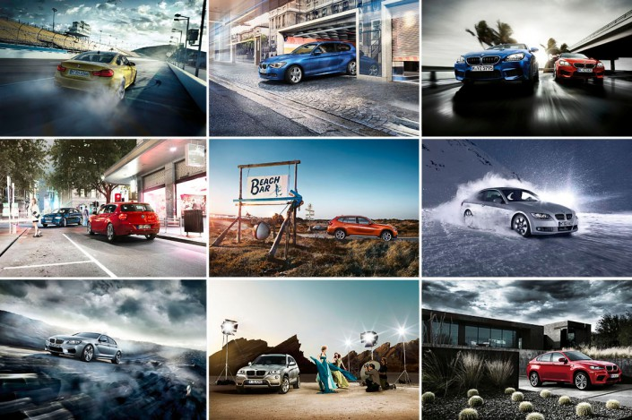 BMW Mix_Titel 2 is a car look composing by Schalterhalle post production and Tobias Winkler - Retouching Munich.