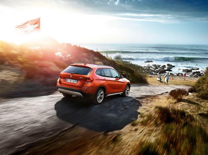 BMW X1 - Südafrika 03 ist ein Car Look Composing der Schalterhalle Postproduktion und Tobias Winkler - Bildbearbeitung München.