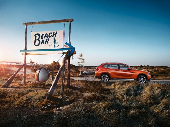 BMW X1 - Südafrika 05 ist ein Car Look Composing der Schalterhalle Postproduktion und Tobias Winkler - Bildbearbeitung München.