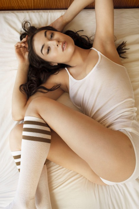 GQ Magazine Sasha Grey 3 is a people retouching project by Schalterhalle post production and Tobias Winkler Imaging.