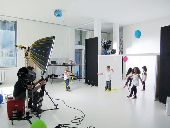 Fotoproduktion Mietstudio Schalterhalle