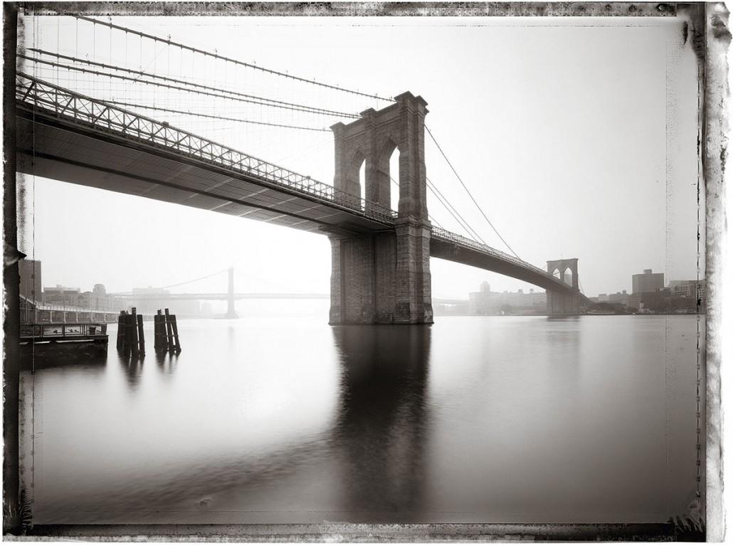 NEW YORK 2009 Brooklyn Bridge ist ein Kunst Retusche Projekt der Schalterhalle Postproduktion und Tobias Winkler - Bildbearbeitung München.