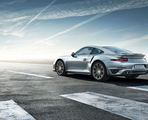 Schalterhalle Postproduktion | Porsche 911 Turbo