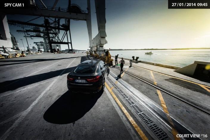 BMW X6 - Miami 06 ist ein Car Look Composing der Schalterhalle Postproduktion und Tobias Winkler - Bildbearbeitung München.