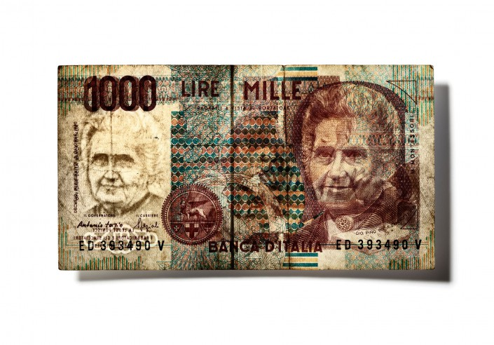 ITALIEN_V06 - Bank Note is a fine art retouching project by Schalterhalle post production and Tobias Winkler Imaging.
