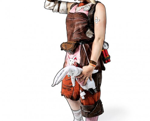 Borderlands – Cosplayer 03 is a people retouching project by Schalterhalle post production and Tobias Winkler Imaging.